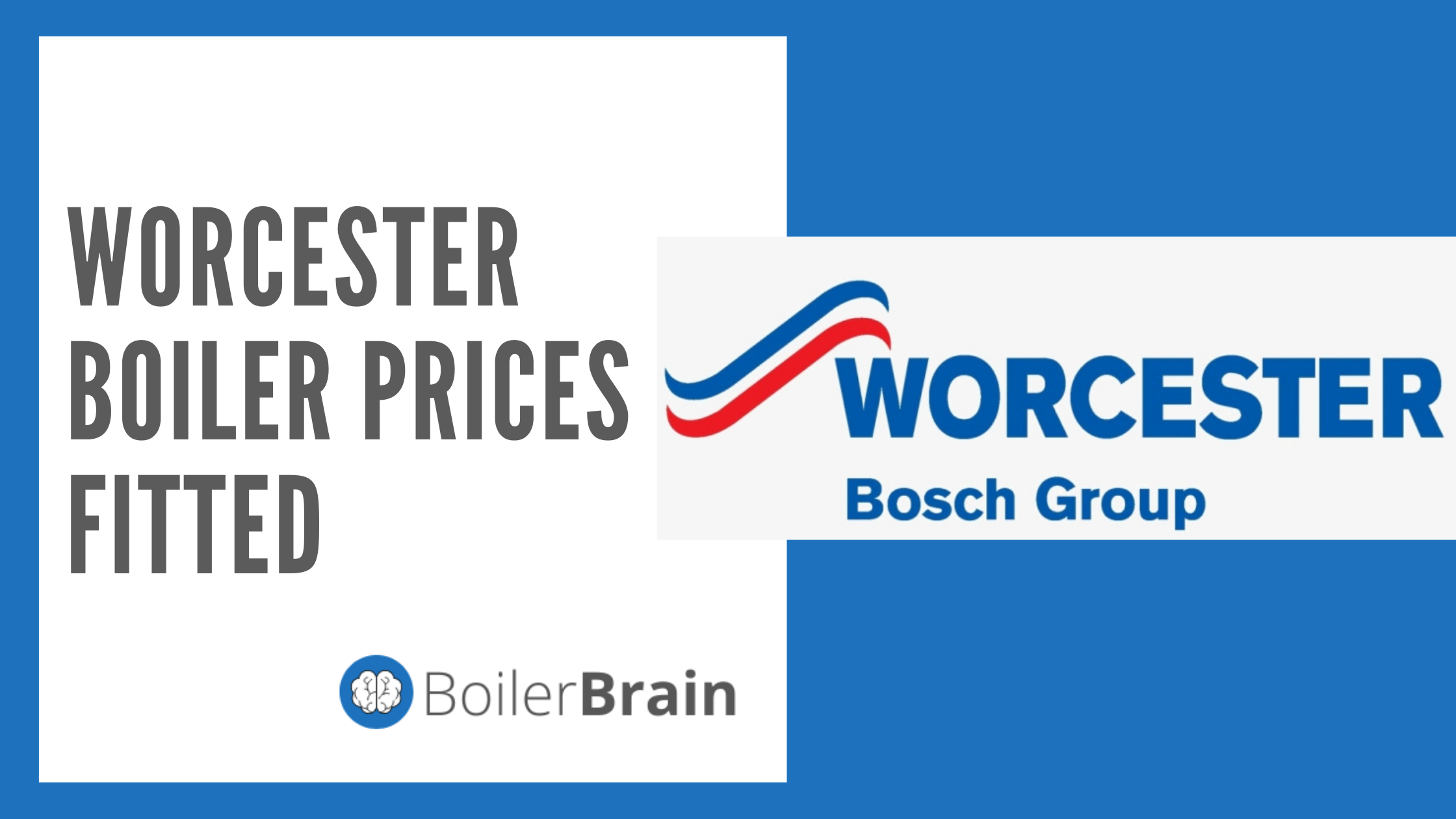 Worcester Boiler Prices Fitted